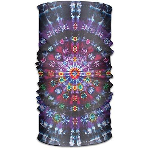 Pañuelos Tie Dye Mandalas Sombreros Pañuelos Sin Costuras Pañuelo en la Cabeza Deporte al Aire Libre Tocado Correr Montar Esquí Senderismo Diademas