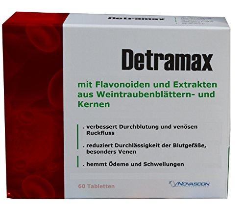 Venen Tabletten, 60 Stk - Flavonoide (Diosmin 220mg, Hesperidin 20mg) + Extrakt aus Weintraubenblättern 80mg und Weintraubenkernen 79mg mit 95{2159663724950bc17622fb0b714f84491bbb58397f613b9b52c59166012fa2a7} der Proanthocyanidine, bei Venenschwäche, dichten die Blutgefäße ab, beseitigen Ödeme und Schwellungen, geeignet auch bei Hämorrhoiden, zur Stärkung der Gefäßwände, Monatspackung, wie Venen Kapseln, venenkapseln, beine