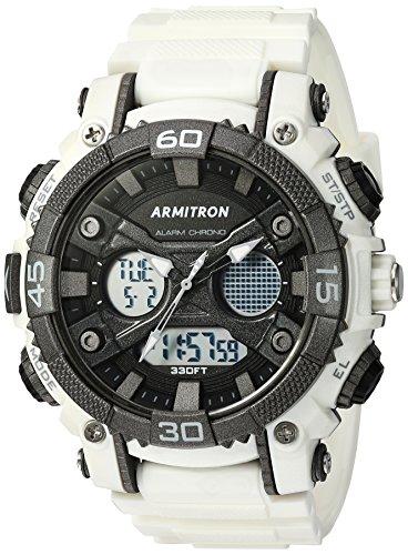 armitron-sport-homme-20-5108wht-analogique-et-digital-chronographe-montre-bracelet-en-resine-blanc