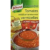 Knorr Soupe les Économiques Tomates Méditerranéennes Vermicelles 1 L - Lot de 4