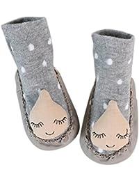 Sharplace Zapatos Zapatillas para Bebés Antideslizantes Suave Cómodo Recién Nacido - 2, 4-8 meses