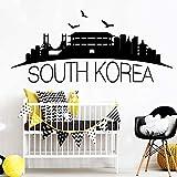 BailongXiao Kreative Koreanische wasserdichte wandaufkleber Wohnzimmer Schlafzimmer Nordischen Stil Dekoration wandkunst Dekoration 30x66 cm