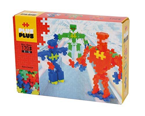Plus-Plus - Boîte de 170 Pièces Jeux de Construction Néon...