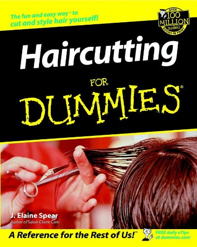 Haircutting For Dummies (English Edition) -