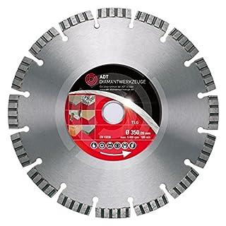 Diamanttrennscheibe TLG Premium / Lasergeschweißt / Ø 350 mm / 25,4 mm Bohrung