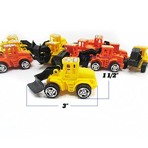 abe1880064 7% OFF on Dazzling Toys Construction Vehicles Pull Back Style - 6 Pack (D133