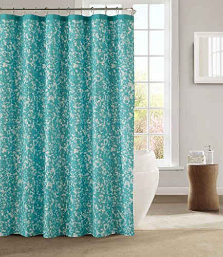 kensie-fabric-shower-curtain-teal-turquoise-white-confetti-design-by-kensie