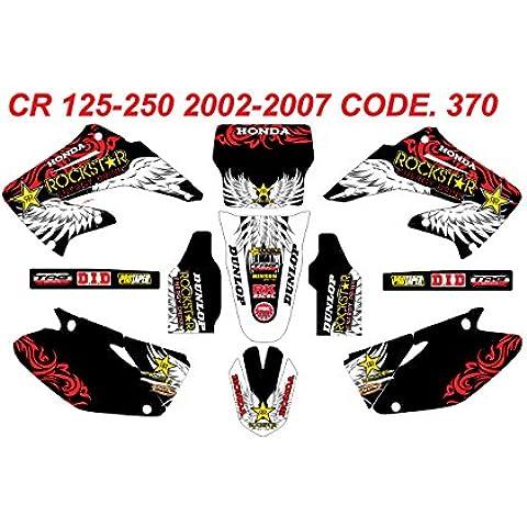 370 HONDA CR 125-250 GRAPHICS KIT 2002-2007