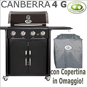 grill rechteckig a gas outdoorchef canberra 4 g mit. Black Bedroom Furniture Sets. Home Design Ideas