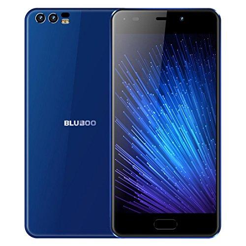 Bluboo D2 5.2 '' Smartphone 3G mtk6580a Quad Core Android 6.0 1G ram 8G ROM Dual Camara 3300mAh Trasera móvil by Rawdah...