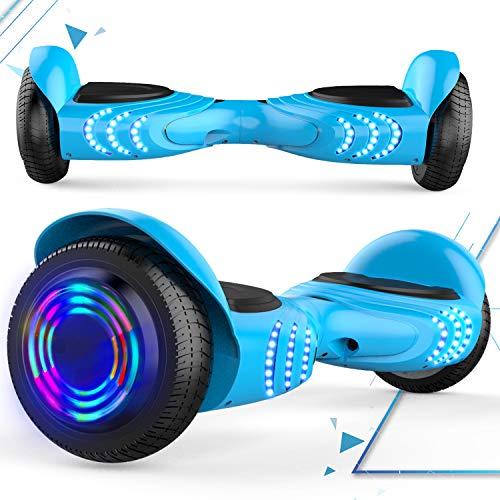 MARKBOARD Hoverboard 6,5 Zoll E-Star 2019 Balance Elektro Scooter - mit RGB LED auf Rädern - Bluetooth