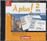 À plus! 2 Methode Intensive - CD-ROM - Boite a outils - Für die Unterrichtsvorbereitung - 2. Lernjahr Französisch, 3. Fremdsprache - Arbeitsblattgenerator, Textanalyse, Lexikon