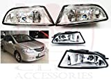 #10: RedClub presents clear colour Fog light for Honda City Zx with FREE pair of Blind Spot Mirrors and complementary RedClub Pen