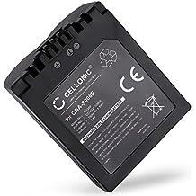 Batteria per Panasonic Lumix DMC-FZ7 FZ8 FZ18 FZ28 FZ30 FZ35 FZ38 FZ50 (750mAh) CGA-S006E