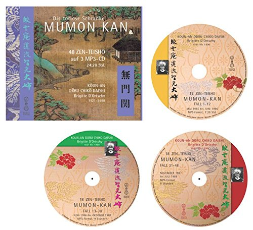 MUMON-KAN Fall 1-48 - 48 Zen-Teisho auf 3 MP3-CDs: Die Torlose Schranke Zen-mp3-fall