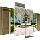 bilderdepot24 toile dco imprime architecture marocaine putrajaya en malaisie 120x80 cm 4