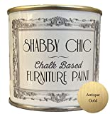 Pintura para muebles, para muebles de estilo Shabby Chic, color: Antique Gold/Oro Viejo 250 ml