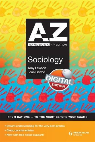 A-Z Sociology Handbook + Online 4th Edition (Complete A-Z) by Joan Garrod (2009-08-28)