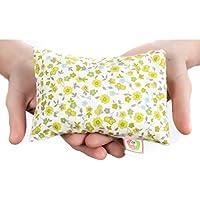✿ BOUILLOTTE SÈCHE THERMIQUE BÉBÉ ANTI-COLIQUE ✿ 15x10 cm Oreiller Coussin Sac de Graines pour Micro-ondes Thermothérapie 100% Coton ➤ST10