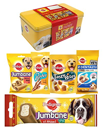 Pedigree Dog Treats Tin, 560 g