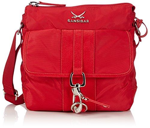 Sansibar  Typhoon, sacs bandoulière femme Rouge - Rot (cherry)
