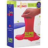 Yucky Science Slime Madness Kit with Borax, 6 Years and above (Multicolour)