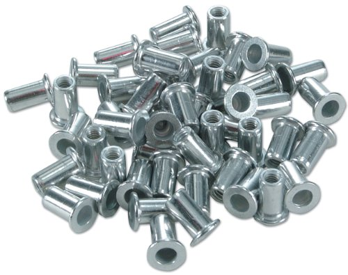 Laser 0981 Écrous de rivet 4 mm Lot de 50