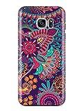 Cover MANDALA AZTEC Blume Flower Handy Hülle Case 3D-Druck Top-Qualität kratzfest Samsung Galaxy S7