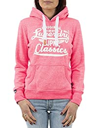 sweat superdry g20002aof1 rose