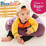 #3: DearJoy Cotton Toddlers' Training Seat Baby Safety Sofa Dining Chair Learn to Sit Stool (purple)