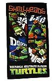 Badetuch Turtles 70 cm * 140 cm Handtuch Strandtuch Baumwolle - Schildkröten Teenage Mutant Ninja Turtle Jungen 70x140 für Kinder Badehandtuch