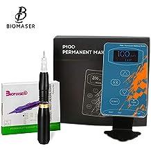 BIOMASER ® Maquillaje permanente Kits de máquinas de tatuaje Maquina profesional de tatuajes digitales Ceja Labios