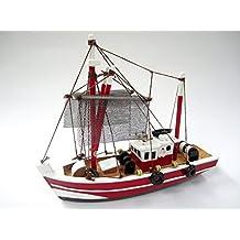 Pesca Starter Kit Barco Mago: Construya su propio barco de pesca Modelo de madera del barco