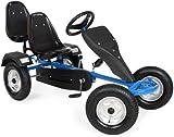 TecTake Go-kart gokart go Kart pedal 2 seater outdoor toy racing fun cart -different colours-