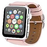 Best Acheter Montres d'Apple - Bracelet de Remplacement en Cuir Pour Apple Watch Review