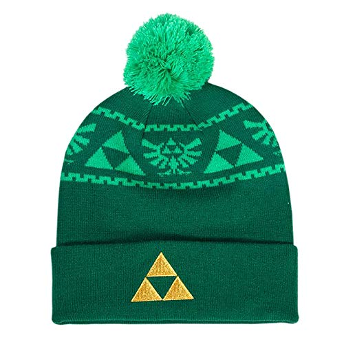 The Legend of Zelda Triforce Embroidered Knitted Rollup