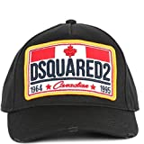 Dsquared2 Baumwolle Kappe Verstellbar Herren Baseball Cap Basecap hut Canadian B