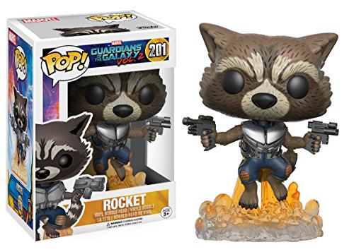 Funko Pop Rocket despegando (Guardianes de la Galaxia Vol. 2 201) Funko Pop Guardianes de la Galaxia