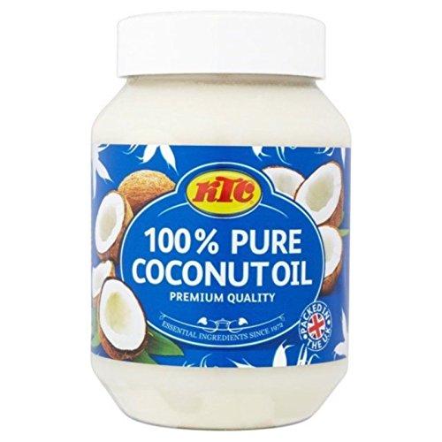 KTC 100 % Reines Kokosnussöl für Haare, Hautpflege, zum Kochen, 500ml