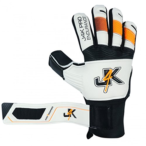 Just 4 Keepers Kinder Tormannhandschuhe: Torwart Handschuhe mit Super Grip - Sichere & komfortable Fußballhandschuhe für Torhüter - Fußballausrüstung für Jungen & Mädchen