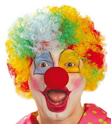 Fiestas Guirca Parrucca Clown Economica Arcobaleno