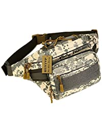 UNIGEAR Military Fanny Pack Tactical Waist Bag Pack Water-Resistant Hip Belt Bag Pouch For Hiking Climbing Outdoor...