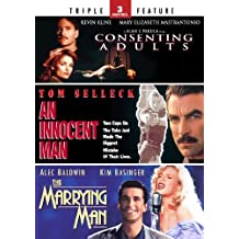 Consenting Adults / An Innocent Man / The Marrying Man - Triple Feature by Mary Elizabeth Mastrantonio