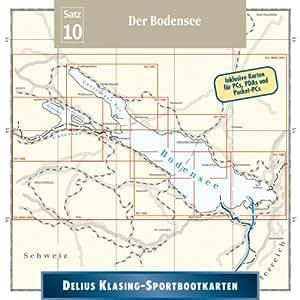 Sportbootkarten 10. Bodensee