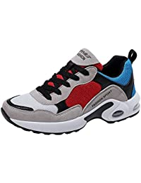 Zapatos atléticos para mujer Zapatillas de deporte de malla casual para caminar - Zapatillas de deporte transpirables...