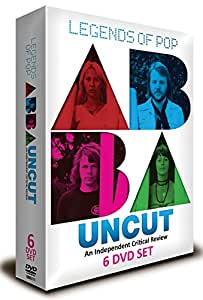 LEGENDS OF POP ABBA UNCUT AN INDEPENDENT CRITICAL REVIEW 6 DVD Box Set [2014]