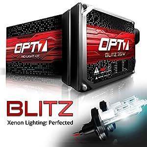 9004 Hi-Lo , 5000K Pure White : OPT7 35w Xenon HID Conversion Kit (92-95 TOYOTA 4RUNNER) 9004 Hi-Lo 5000K Pure White