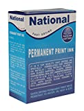#7: National-Permanent Fast Drying Ink -100 ML with Diluter Set ( Black Color Ink )
