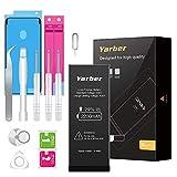 Yarber Batteria per iPhone 6s, 2200mAh Batteria sostitutiva ad alta capacità 0 Ciclo, Kit attrezzi professionali completi con istruzioni [Solo per ip6s]