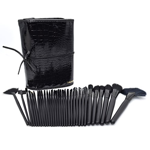 Dolovemk® 32 pièces Basic Pinceaux de maquillage Ensemble de Kits de beauté pour les débutants